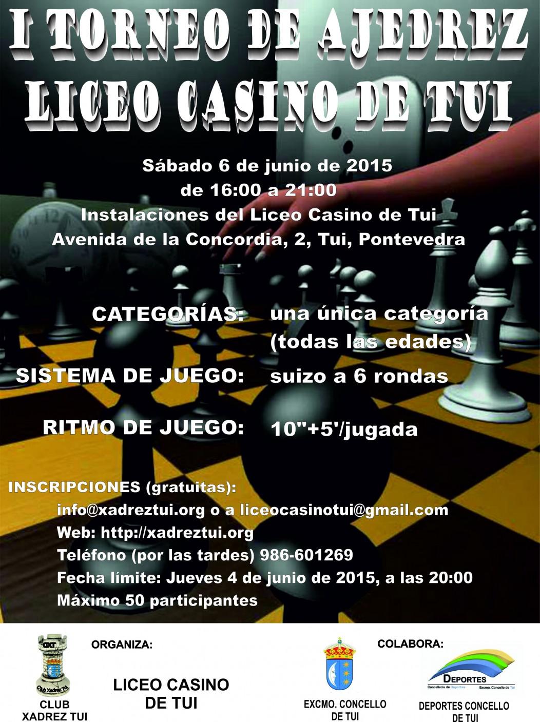 Crónica I Torneo Liceo Casino de Tui